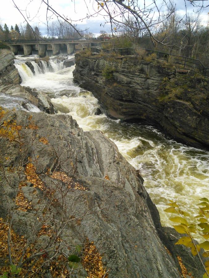 Water Cuts Rock