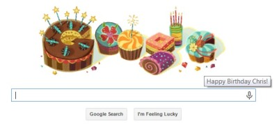 Google Bday Wishes